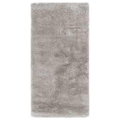 Tappeto Softy grigio chiaro 180x60 cm