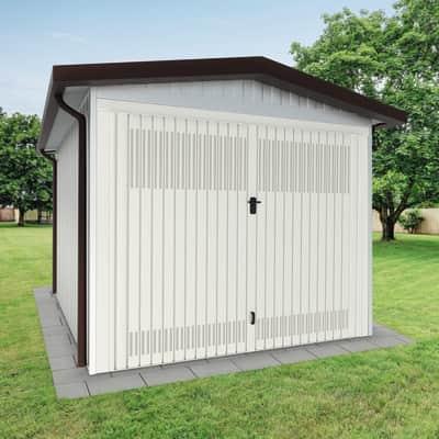 Garage in acciaio al carbonio Chicago SAPIL 11.04 m², Sp 40 mm