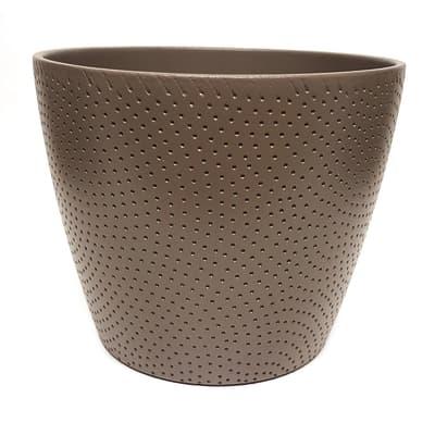 Portavaso Ion ALMAS S.A. in ceramica H 14 cm, Ø 17 cm