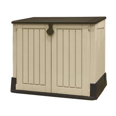 Box portattrezzi in resina Store it out midi L 130 x P 74 x H 110 cm