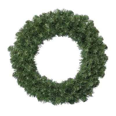 Corona di natale verde Ø 50 cm
