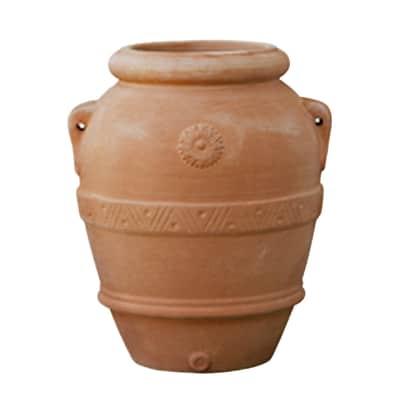 Orcio Imprunetino in terracotta colore cotto H 60 cm, L 45 x P 45 cm