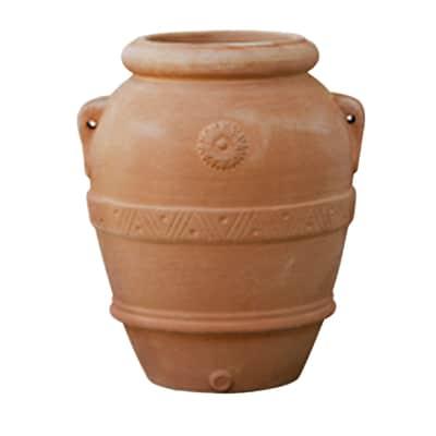 Orcio Imprunetino in terracotta colore cotto H 70 cm, L 60 x P 60 cm