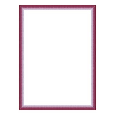 Cornice INSPIRE Bicolor fucsia per foto da 13x18 cm