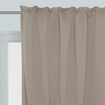 Tenda Oscurante marrone fettuccia 140x350 cm