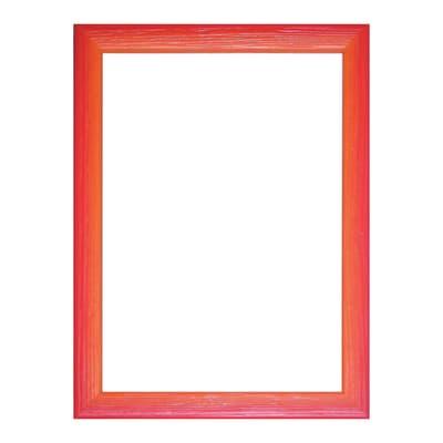 Cornice INSPIRE Bicolor rosso / arancione per foto da 13x18 cm