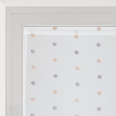Tendina vetro Chloe bianco tunnel 60x240 cm