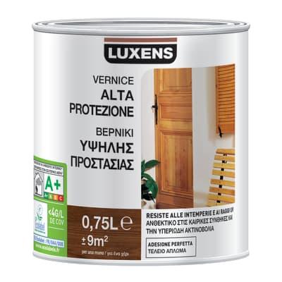 Vernice per legno da esterno liquido LUXENS 0.75 L incolore lucido