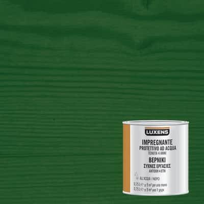 Impregnante a base acqua LUXENS verde 0.75 L