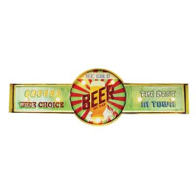 Scritta Beer 64x21 cm