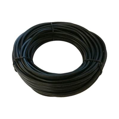 Cavo elettrico h05vv-f LEXMAN 3 fili x 0,75 mm² Matassa 5 m nero