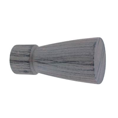 Finale per bastone Ø28mm Sonoma pomolo in legno verniciato