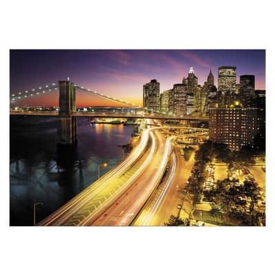 Foto murale KOMAR NYC lights National Geographic 368.0x254.0 cm