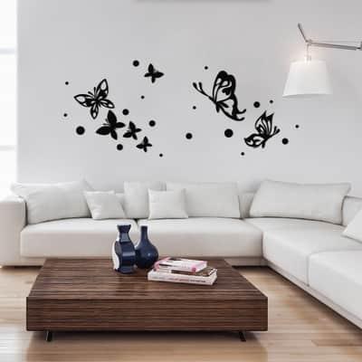 Sticker Butterflies silhouette 47.5x70.5 cm
