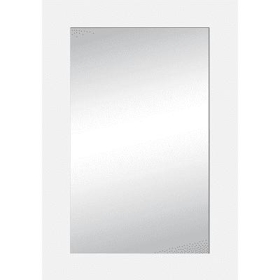 Specchio Wally rettangolare bianco 80x120 cm