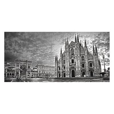 Pannello decorativo Duomo Milano 210x100 cm