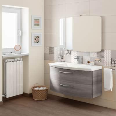 Mobile bagno Cassca grigio L 101 cm