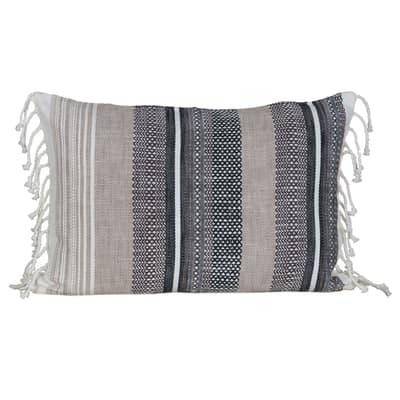 Cuscino INSPIRE David grigio 40x60 cm