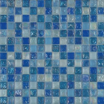 Mosaico Ice light sky H 30 x L 30.5 cm azzurro