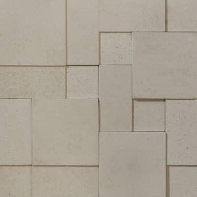 Mosaico Prisma H 30 x L 30 cm beige