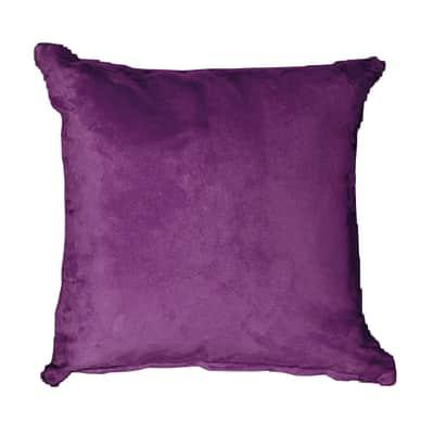 Cuscino Suedine viola 50x50 cm