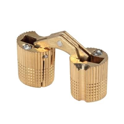 Cerniera invisibile acciaio 8 x 15.8 mm Ø 14 mm 2 pezzi