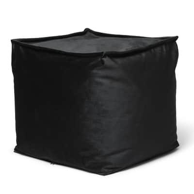 Pouf Viki nero 45x45cm