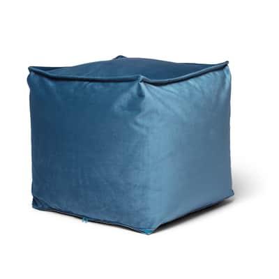 Pouf Viki blu 45 x 45cm
