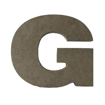 Scritta G 17x15 cm