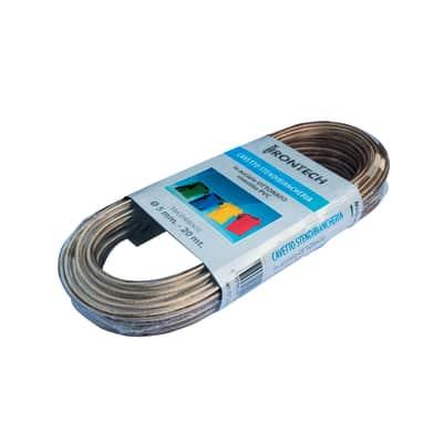 Corda stendibiancheria STANDERS in acciaio ottonato Ø 5 mm x 20 m