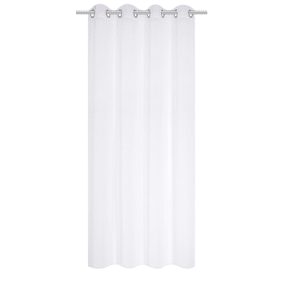 Tenda INSPIRE Ottavia bianco occhielli 140x280 cm
