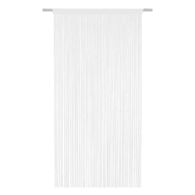 Tenda Spaghetti bianco tunnel 140x270 cm