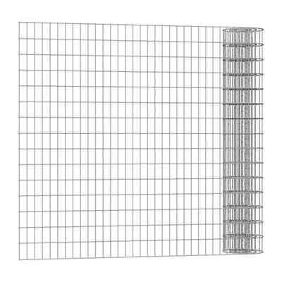 Rotolo di rete metallica elettrosaldato Executive ECO grigio / argento L 25 x H 1.25 m