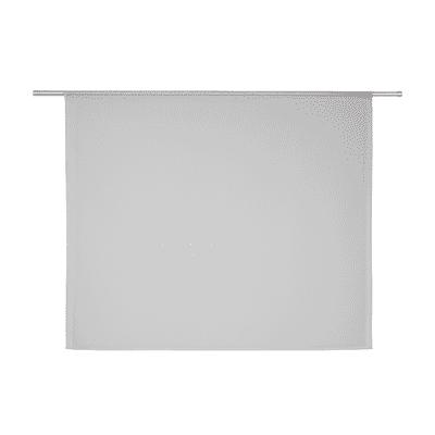 Tendina vetro Leo grigio tunnel 140 x 120 cm