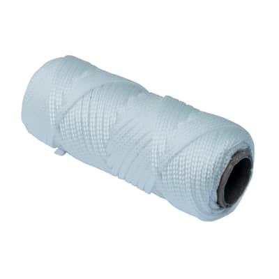 Corda a treccia in polipropilene STANDERS L 20 m x Ø 2.5 mm bianco