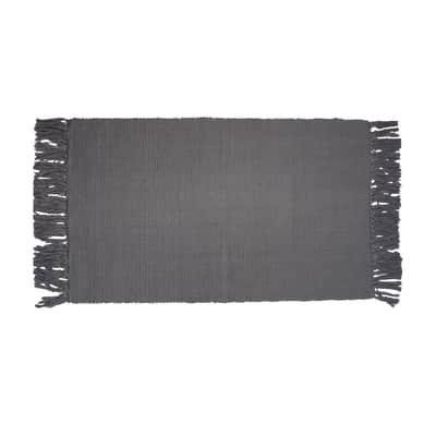 Tappeto Basick grigio 50x80 cm