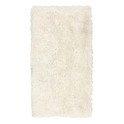 Tappeto Shaggy enzo , bianco, 160x230 cm