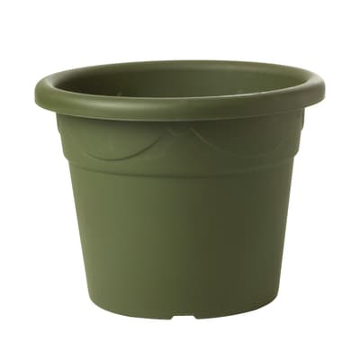 Vaso Corinto in plastica colore verde H 42.5 cm, Ø 58 cm