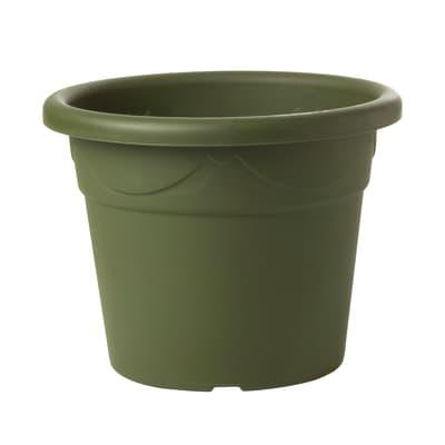 Vaso Corinto in plastica colore verde H 60 cm, Ø 85 cm