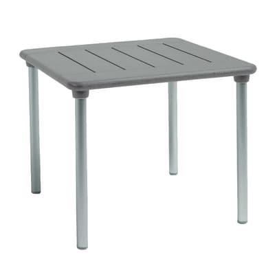 Tavolo da giardino allungabile con piano in resina L 90 x P 90 cm