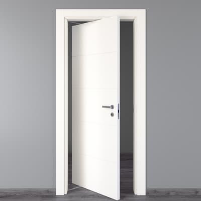 Porta rototraslante Prado bianco L 80 x H 210 cm sinistra