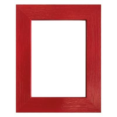 Cornice INSPIRE Riviera rosso per foto da 10X15 cm