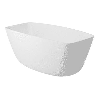 Vasca centro stanza Lea Bianco 157 x 70 cm
