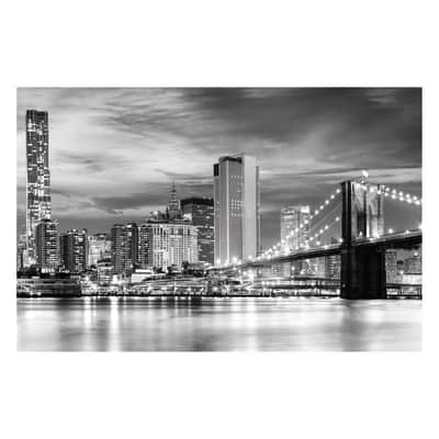 Quadro su tela Manhattan View 75x115 cm