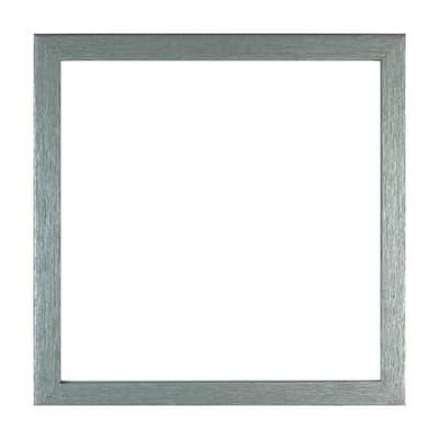 Cornice con passe-partout Inspire milo argento 20x20 cm
