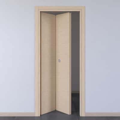 Porta pieghevole Spring rovere chiaro L 80 x H 210 cm sinistra