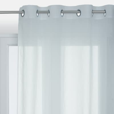 Tenda INSPIRE Lol bianco occhielli 140x280 cm
