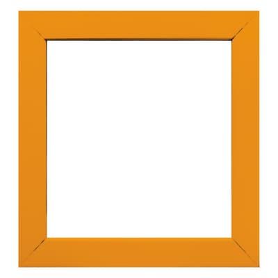 Cornice INSPIRE Easy arancione per foto da 14x14 cm