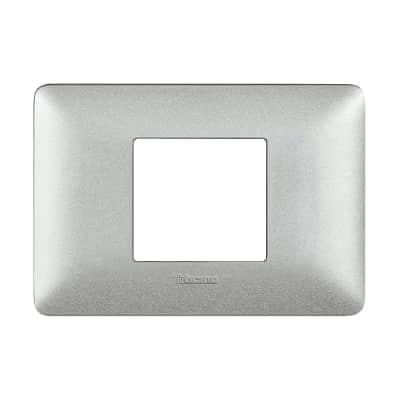 Placca BTICINO Matix 2 moduli bianco calce