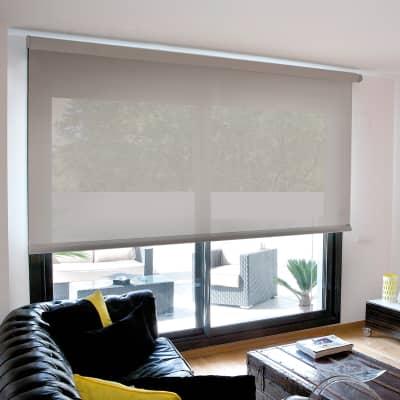 Tenda a rullo INSPIRE Screen grigio perla 135x250 cm